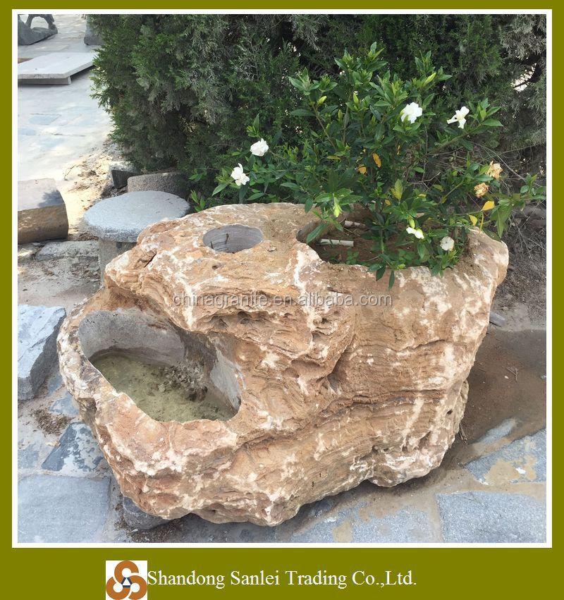 Macetas de piedra para jardin casa dise o - Piedra de jardin ...