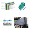 3-ply composite material waterproof breathable membrane for USA wooden house roof,walls