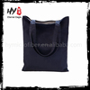 Canvas customized logo foldable shopping tote bag