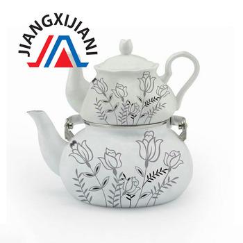 Double Turkish Decorative Tea Kettles Set Buy Double Turkish Tea