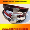 Airline airplane aircraft original leather fashion belts