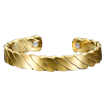 Men S Large Heavy 316l Stainless Steel Gold Wrist Bracelet Cuff Bangle Product On Alibaba