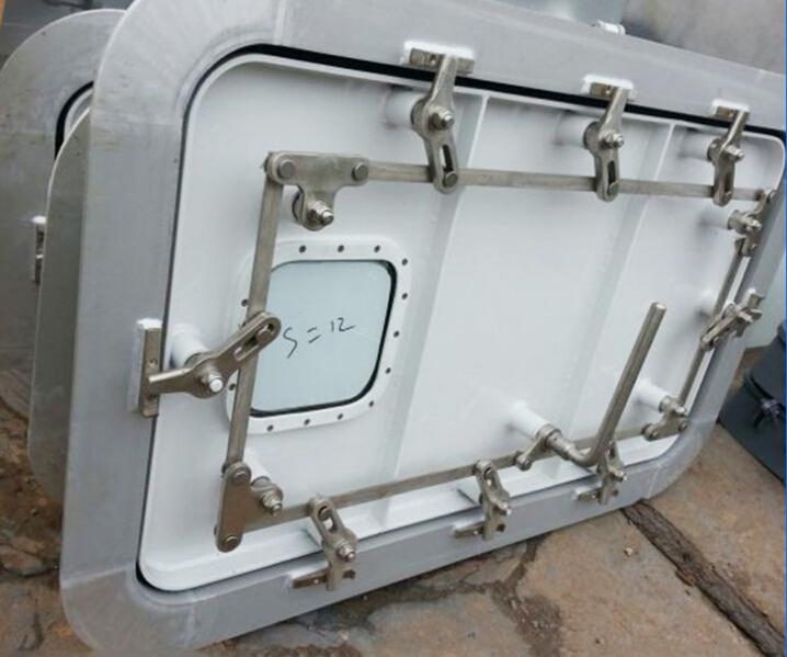 China Supplier Marine Ship Steel Watertight Steel Door