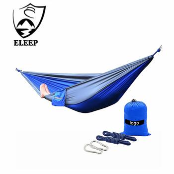 Folding Camping Backyard 2 Person Hammock Bed Portable Hammocks For