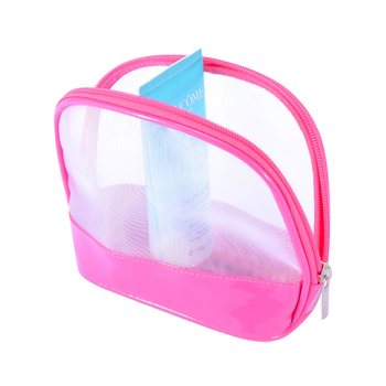 Transpa Nylon Mesh Cosmetic Bag Clear Travel Toiletry Bags Young Product On