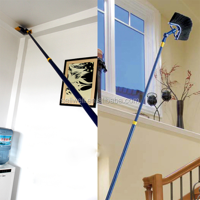 Telescopic Brooms To Clean Ceiling Foldable Long Handle