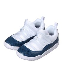 AIR JORDAN 11 LITTLE FLEX оригинальная детская обувь дышащая легкая детская обувь для бега спортивные кроссовки # BQ7101(Китай)