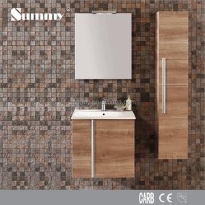 SV-15311 wall hung 30 inch modern maple bathroom vanities