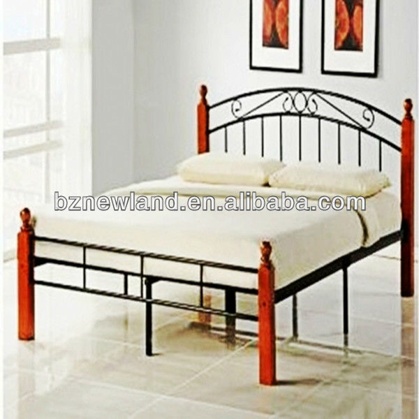 Cheap Wooden Poster Metal/steel Double Bed Furniture,Modern Iron Bedroom  Design Furniture Sets China 2013 S 16   Buy Double Bed For Home Furniture,Metal  Bed ...