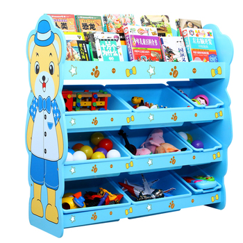 Toy Storage Bins Kids Cabinet Plastic Basket Organizer Multi Box Cubby Rack  Chest