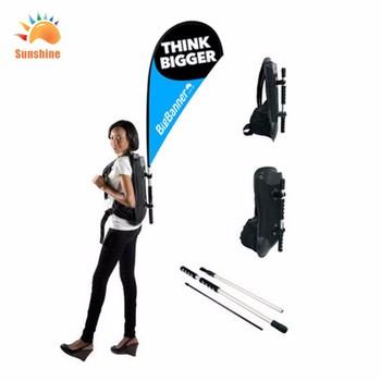 5ac1a1ee4e1 Backpack Flying Banner Flag Walking Banner Display Advertising Backpack