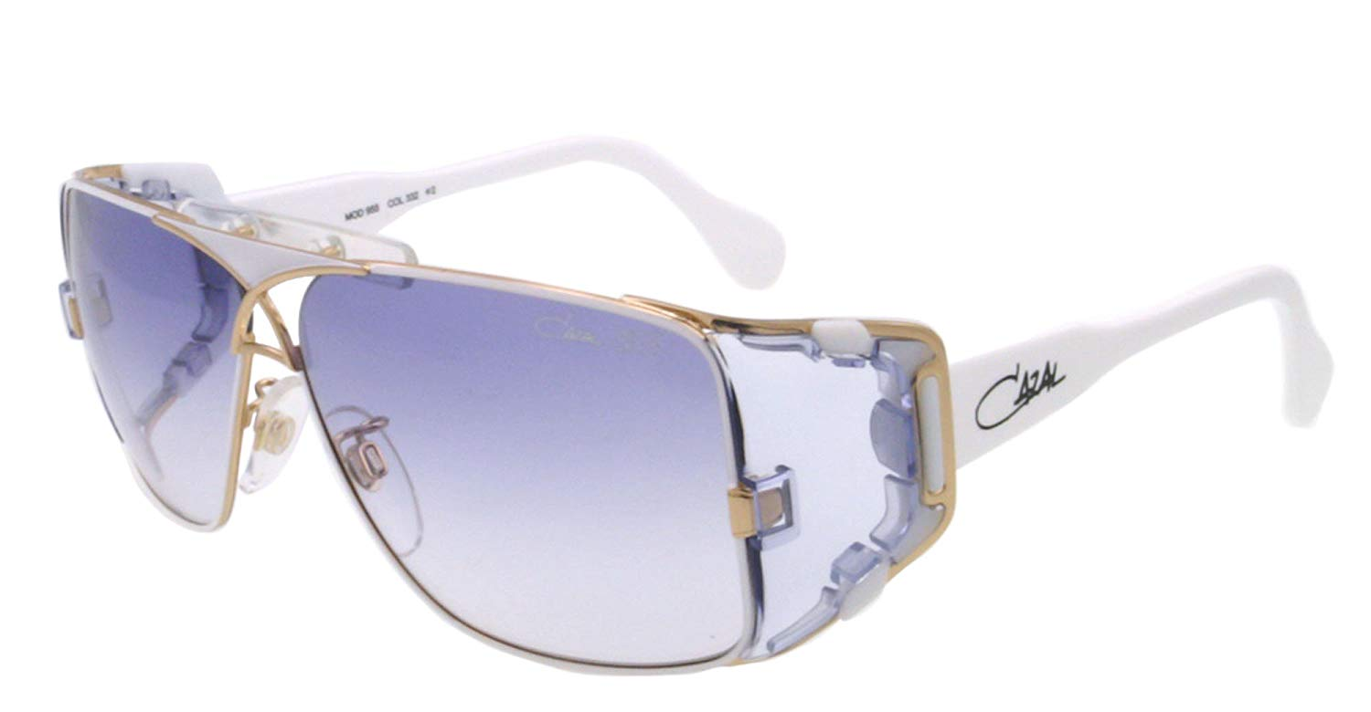 d968dc6e2bb Get Quotations · Cazal Sunglasses CZ 955 WHITE 332 CZ955
