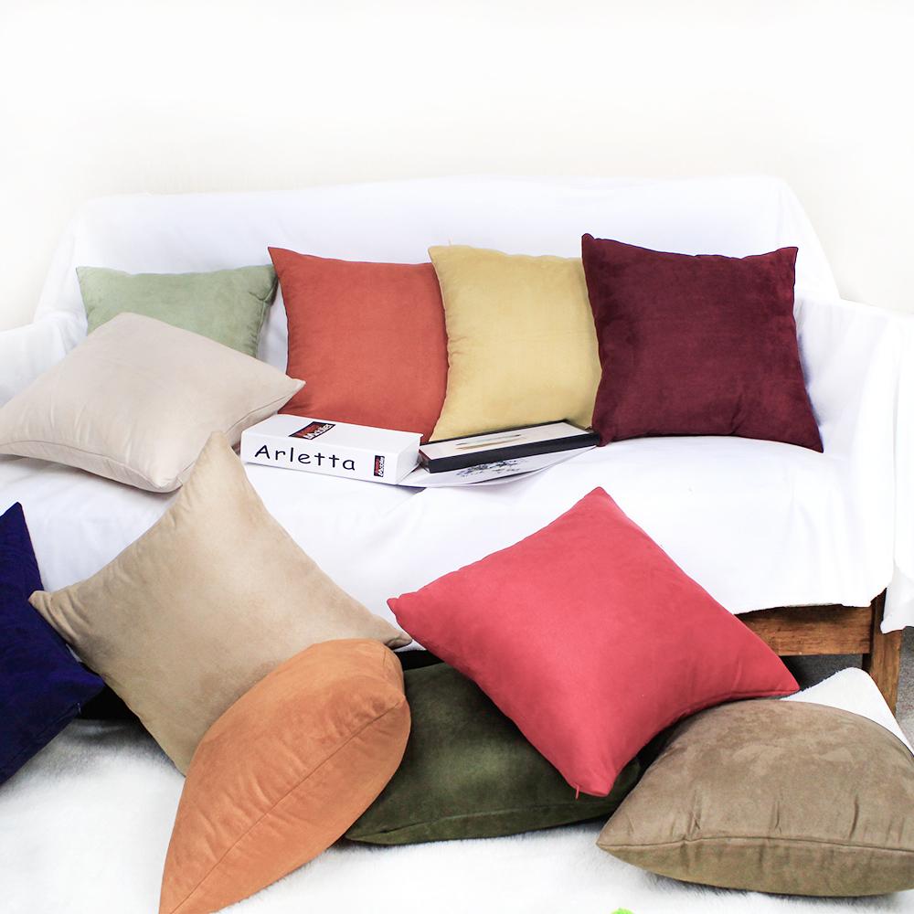 Venta al por mayor funda cojin colores Compre online los