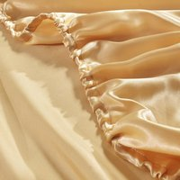 Good quality American queen size satin bed sheets fitted sheet wholesale