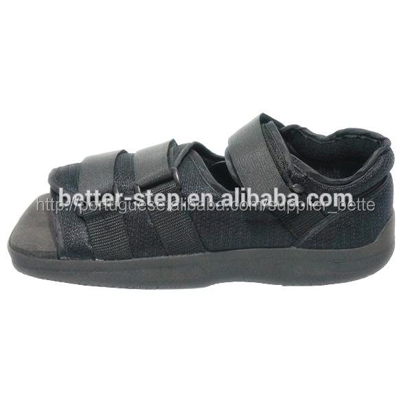 9b1eb897a92b Melhor- passo dedo quadrado de pano de nylon e pós operatório de sapato