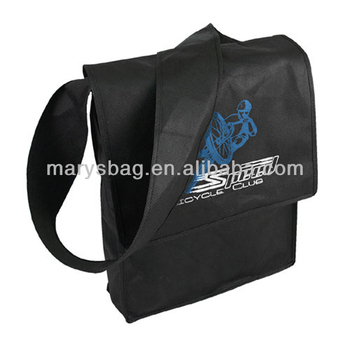 Promotional Nonwoven Messenger Tote