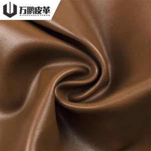 Wholesale 1Mm Thick Eco Friendly Napa Leather Water Based Pu Fabric Shoes Material