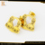 18k solid gold jewelry adorable twins girl kids jewelry sets in stock