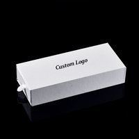 New Customized Box Gift OEM Brand Box Fashion White Paper Watch Packing Box Custom Package Watch Case