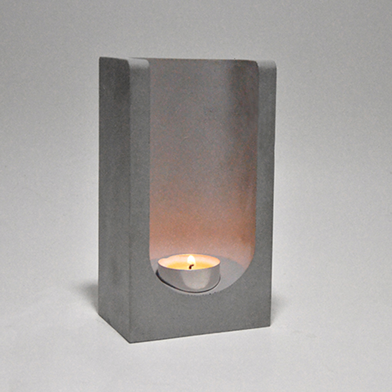 S9096 Concrete Candleholder molds home furnishing candle stick molds living room candle holder
