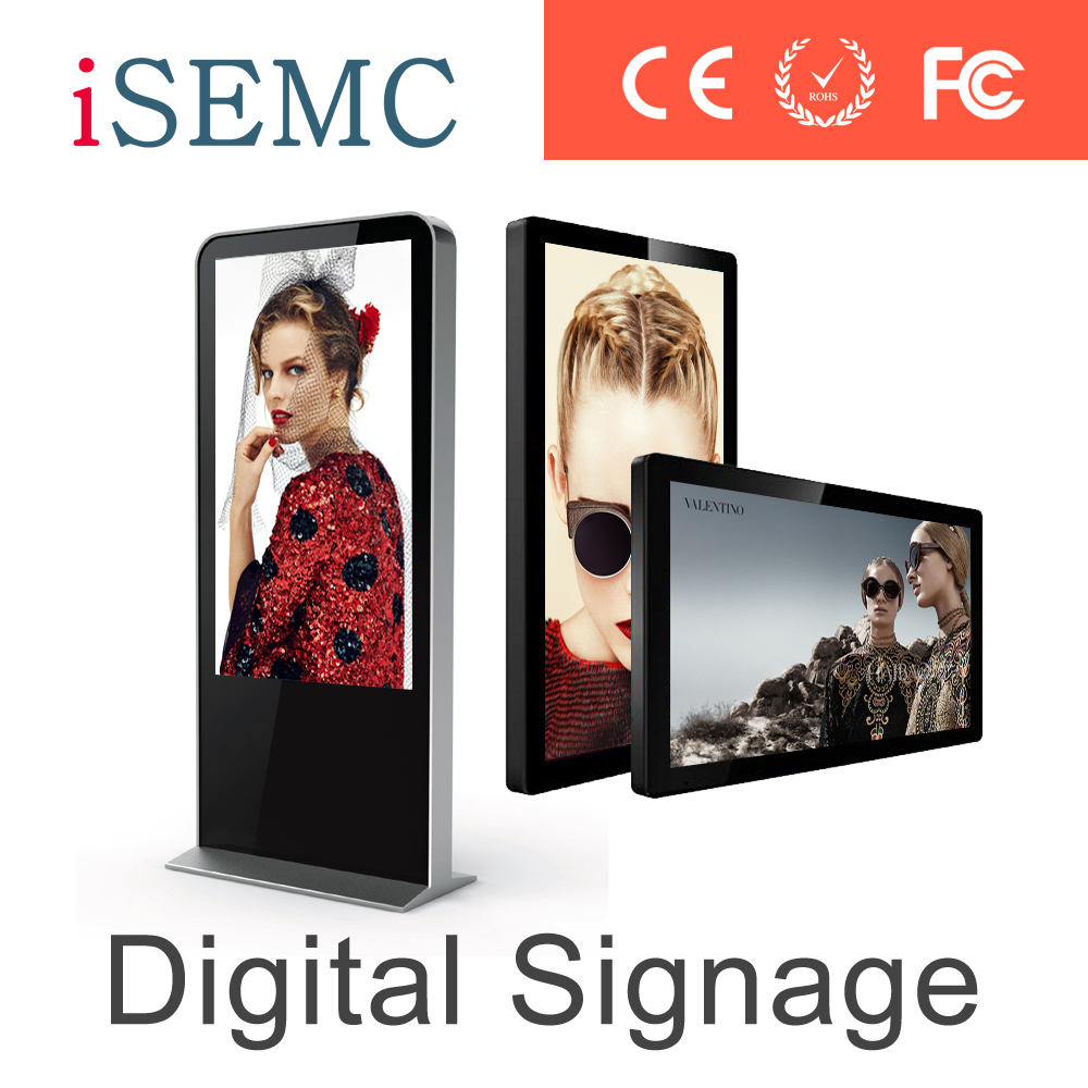 Iphone shape hotel mirror lcd digital signage tft with motion sensor