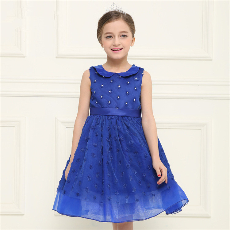 19562cbdb3a Amazon Hot Sale Top Quality Flower Girls Dresses For 4-10 Years Old Girl  Party