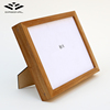 Pure wooden handmade 8x12 decorative wood picture photo frame for home