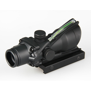 GSP0205-G--- Tactical 1x32 Red Dot Scope With Green Fiber For Hunting