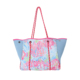 personalized lilly monogram design tote bags for woman