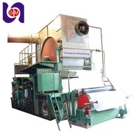 1760mm toilet paper and facial tissue roll cutting making machine industrial toilet paper slitting rewinding machine