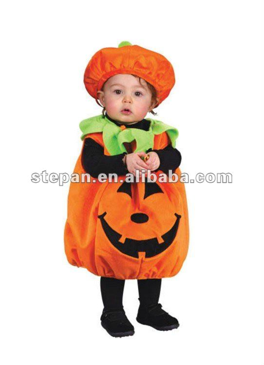TZ-8773 Baby Pumpkin Halloween Costume