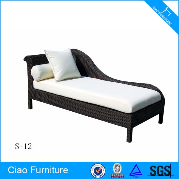 Muebles De Mimbre Al Aire Libre Jardín Antiguo Chaise Lounge - Buy ...