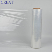 Transprent PE Stretch Film for packaging pallet / PE Stretch film