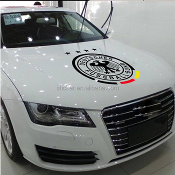 Reflective Car Decoration Sticker World Cup Water Proof Accessories on