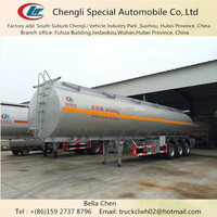 40 tons Fuel Tanker Trailer Dimensions, Standard or Customize