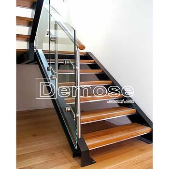 Escaleras De Madera Para Lofts/u Escaleras De Vidrio Precio - Buy ...