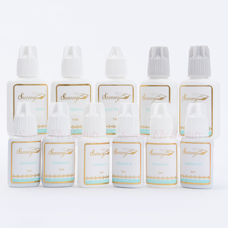 Wholesale professional clear korea private label eyelash extension glue
