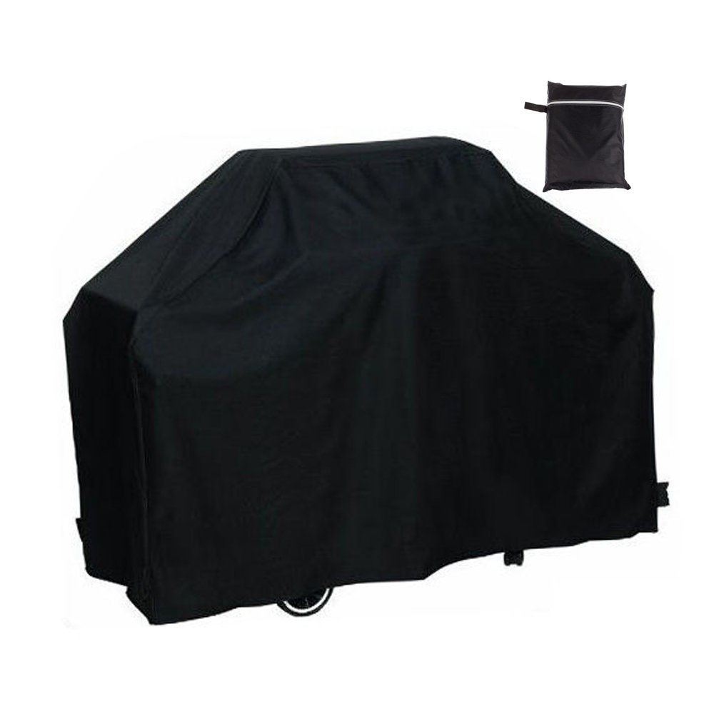 Easehold BBQ Gas Grill Covers Outdoor Waterproof All Weather Shelter 75x28x46 Inch Black
