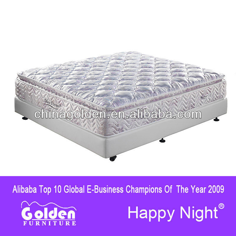 Hard firm pocket spring round bed mattress 8310