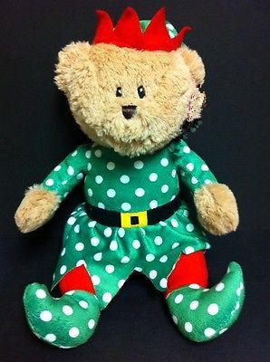 Sugar Loaf Toys Christmas Plush Bear Elf Stuffed Animal Buy Elf