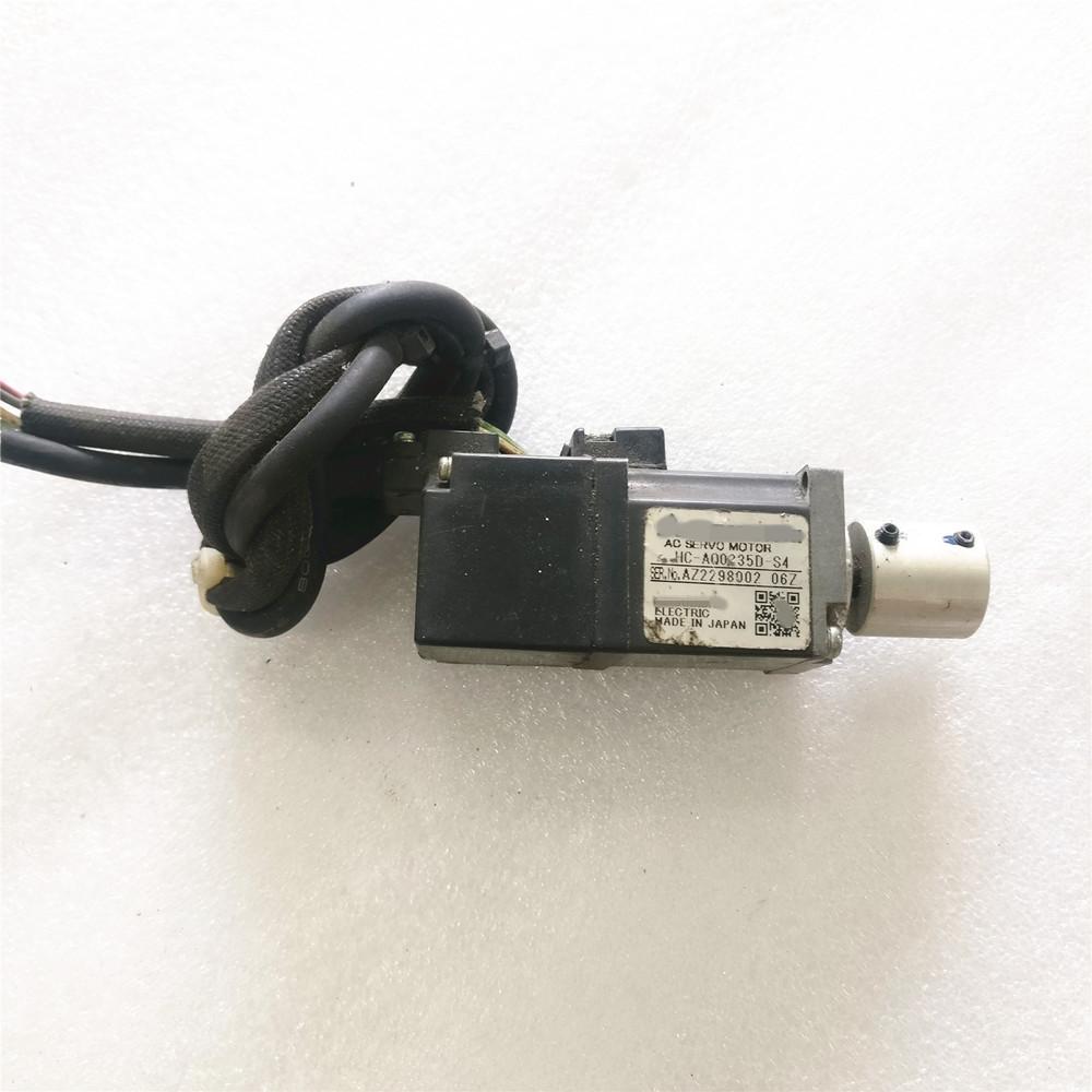 USED Mitsubishi servo motor HC-AQ0235D-S4 tested