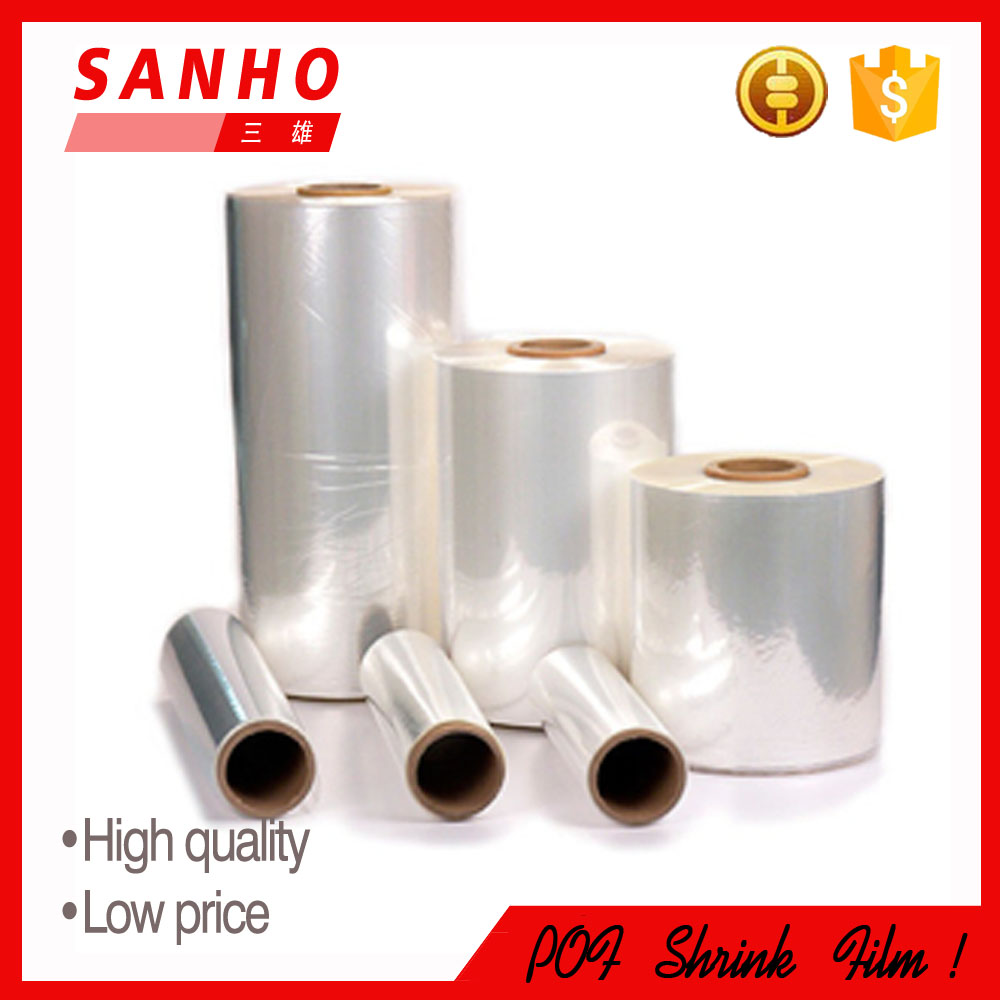 Shrink Film Type Transparent plastic POF shrink film heat shrink tube