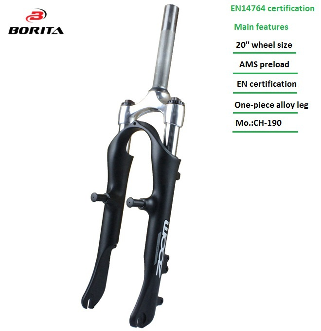 2015 Zoom Brand Suspension 20 Inch E Bike Bicycle Front Fork For