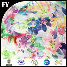 FY Digital Printed Fabric Textile 100% Polyester