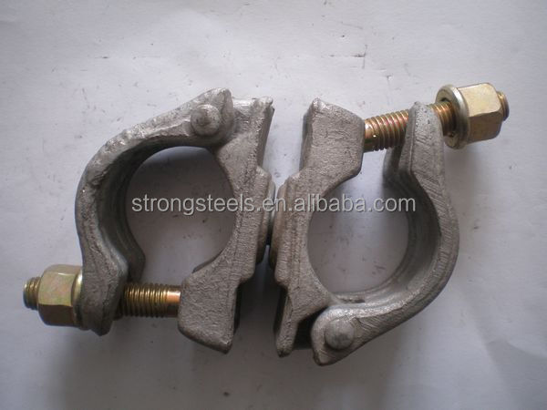 building materials ! pipe clamp joints scaffolding German type swivel coupler