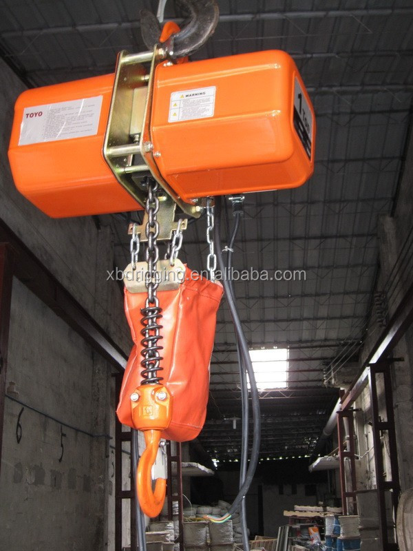 Small Electric Hoist 110v Electric Cable Hoist 110v 1 Ton Electric ...