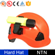 New Style Custom Logo Construction Safety Hard Hat with Light