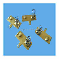 Battery copper contact springs/Battery Fittings/Stainless steel conical compression spring