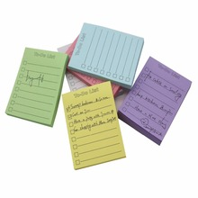 Custom To Do List Notepad Sticky Note Memo Pad