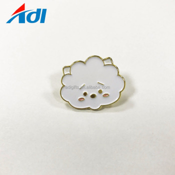 China supplier custom cheap metal badges cute gold soft BTS enamel lapel pins